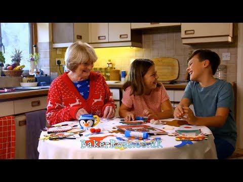 Baker Ross Christmas TV Advert 2017