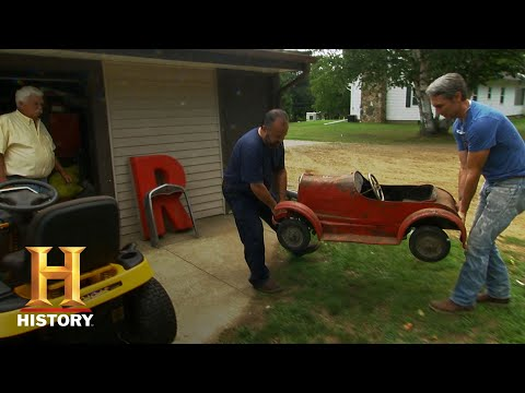 American Pickers: Mike Puts In Work For A Pedal Car (Season 18) | History
