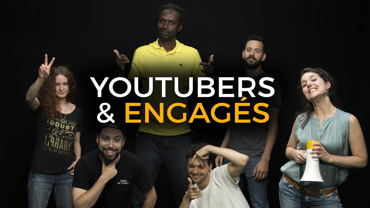 youtubers et engag s c 39 est coeurant feat le grand jd thomas gauthier le jt rapp youtube. Black Bedroom Furniture Sets. Home Design Ideas