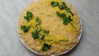 Салат Мимоза,новый вариант / Salad Mimosa, a new version