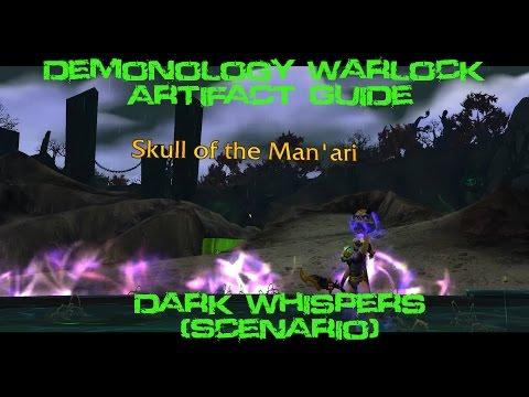 [Quest 42125] - Dark Whispers {Demonology Artifact Scenario}