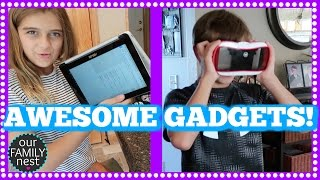 AWESOME BACK TO SCHOOL GADGETS