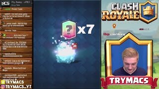 CLASH ROYALE HACK?! | 7 LEGENDARY CARDS IN 3 TAGEN | LEGENDARY CHEST OPENING | CLASH ROYALE DEUTSCH