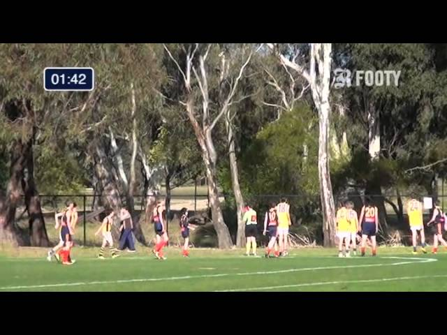 2013 SMJFL Grand Final Under 13 Div 5 - Caulfield Bears v East Sandringham 3