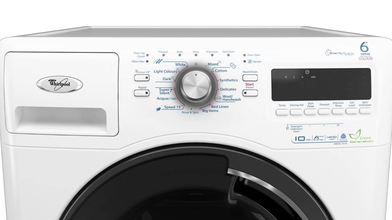 6th Sense Washing Machine Wavemotion Technology Whirlpool Youtube