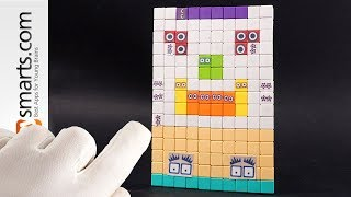 Making One Very Big (and Strange) Numberblock (Can You Guess) - DIY tutorial for kids