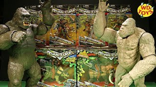 New King Kong Vs Rampage Primal Clash Lanard 6 Dinosaur Toys Unboxing Skull Island Subject George