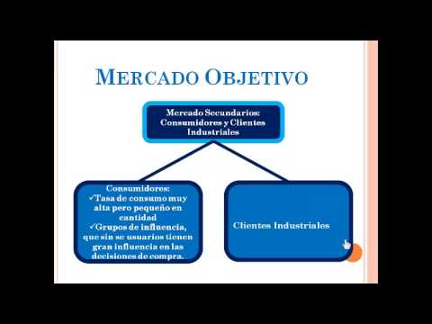 Objetivos de ventas - Mercado objetivo - objetivos de marketing