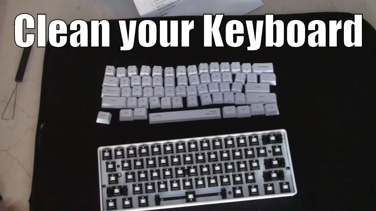 How to Clean your Mechanical Keyboard