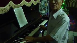 Mau xanh Noel - Dem hat piano