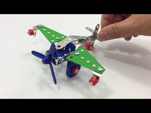 DIY Miniature Fighter Aircraft ~ Metal DIY Model