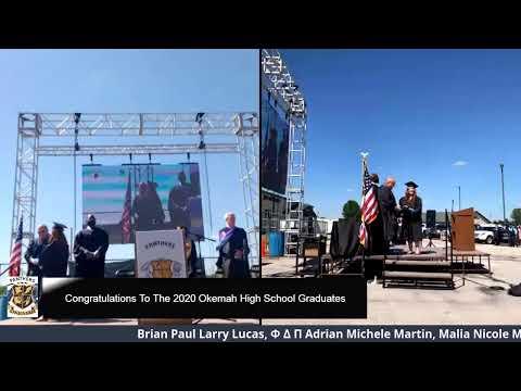 Okemah High School Graduation