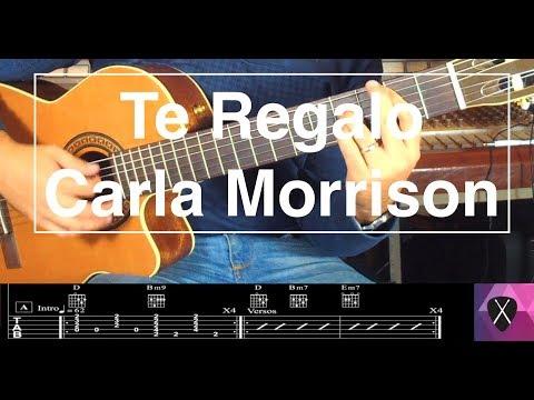 "Cómo tocar ""Te Regalo"" de Carla Morrison   Guitarra"