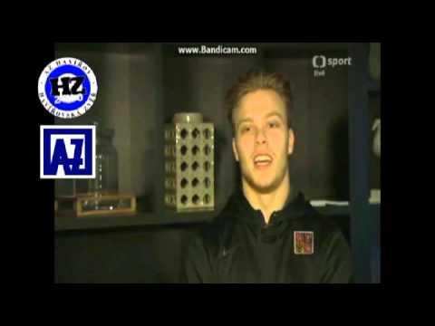b97498c3a7b7f David Pastrňák zdraví fanoušky Havířova z Mistrovství světa ve Finsku