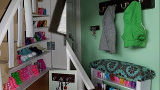 How to make A Doll House Entrance