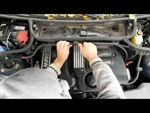 Замена катушек зажигания  BMW E46,  N42