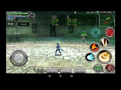 Avabel Online PvP: Seely(Blader) Vs LoRD(Gladiator)