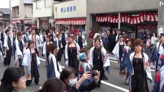 彩酉漣演舞(25歳厄年連)/立町附近1回目/日高火防祭2017