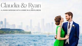 Claudia & Ryan | Rustic Jewish wedding at Bridgeport Art Center, Chicago, USA