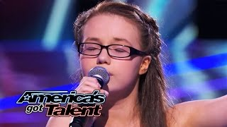 "Mara Justine: 12-Year-Old Wows With ""I Have Nothing"" Cover - America"