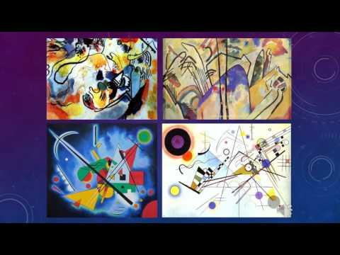 Kandinsky Painting Video