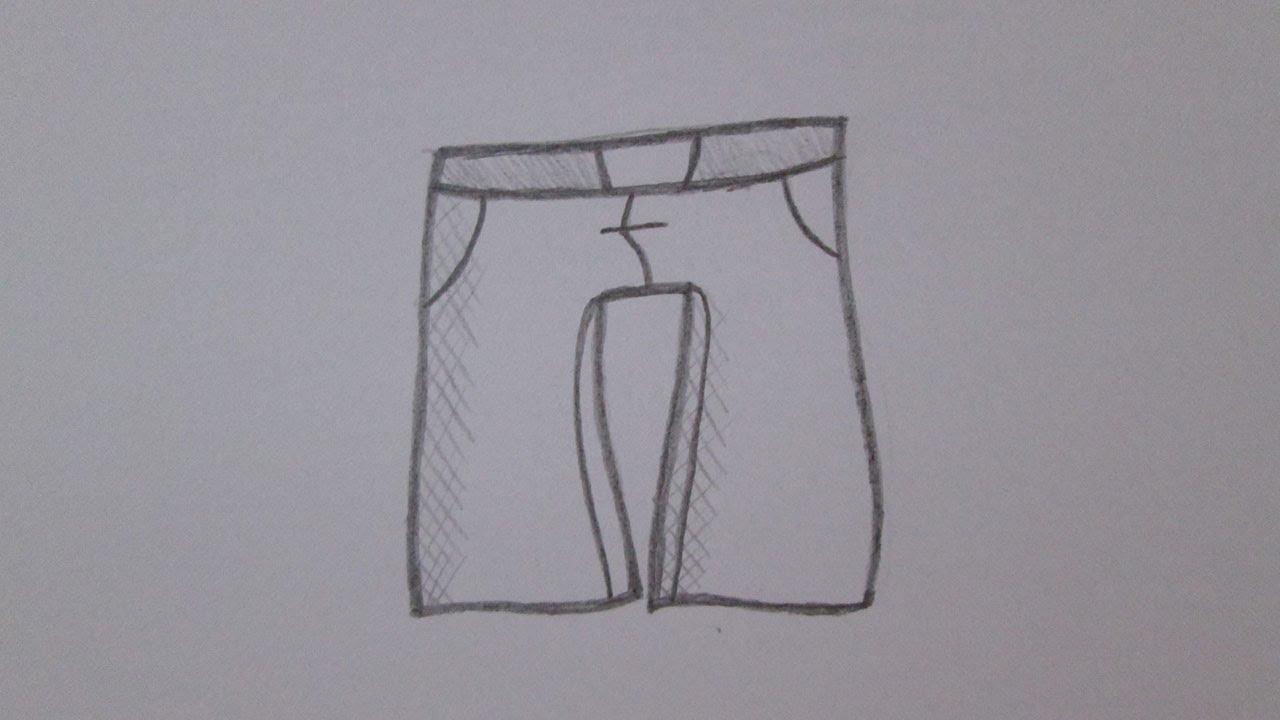 Como Dibujar Los Pantalones Youtube