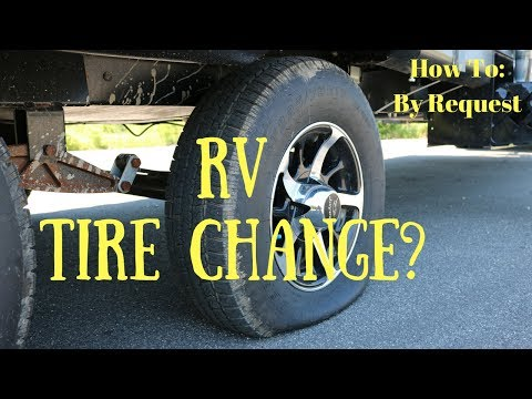 RV Tire Change - By Request