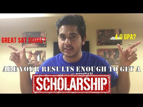 Are Your Results Enough To Get A Scholarship?