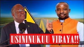 Duuh!! huwezi kuamini Gwajima alivyojieleza kwa rais Magufuli leo,  huyu mtu anajua vitu vingi mno!