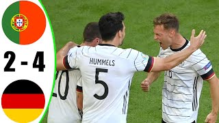 Portugal vs Germany 2 4 All Goals Extended Highlights 2021 HD