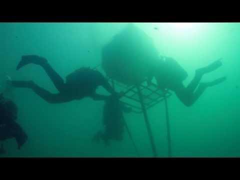 Diving in Blue Lake, Russia - Дайвинг на Голубом озере