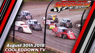 August 30th 2018, RRCS Wissota Midwest Modifieds Heats & Features