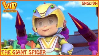 Vir: The Robot Boy   The Giant Spider   English Episodes   Action cartoons for Kids