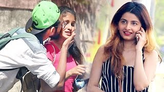 Kiss and Run Prank   Kissing Prank in India   Street Swaggers