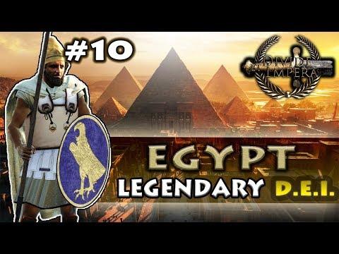DESERT CITY FALLS! - Divide Et Impera - TW: Rome II - Egypt Legendary Campaign #10