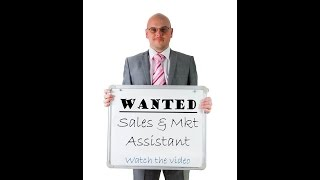 Sales and Marketing Assistant