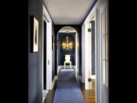 great narrow hallway decorating ideas youtube. Black Bedroom Furniture Sets. Home Design Ideas