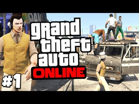 GTA 5 PC Online Gameplay - The Law Abiding Citizens