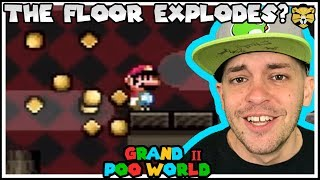 Climbing Troll Tower! GRAND POO WORLD 2 Mario Romhack Part 12
