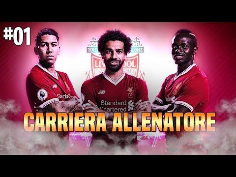 FACCIAMO TORNARE GRANDE IL LIVERPOOL | CARRIERA ALLENATORE FIFA 19 #1