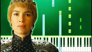 Game of Thrones - Light of the Seven (Piano Tutorial Easy)