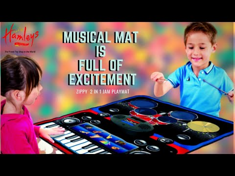 ★Unboxing★ Zippy Mat 2 In 1 Music Jam Playmat, Musical Mat For Kids | Foldable Piano With Drum Kits