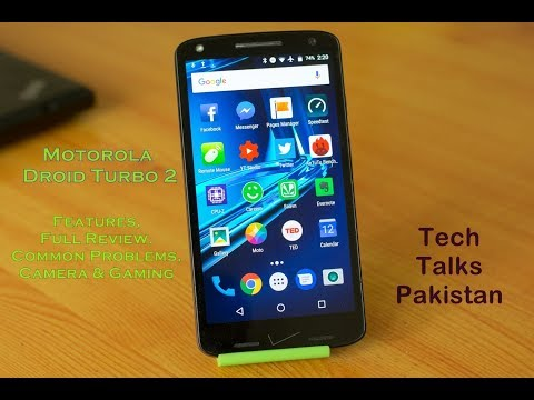 Motorola Droid Turbo 2 Review in Urdu - TechTalksPakistan