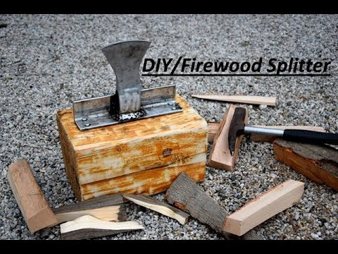 DIY | How To Make A Firewood Splitter