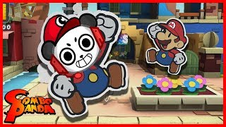 Paper Mario Color Splash Let's Play with Combo Panda