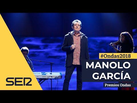 Manolo García canta 'Oceáno Azul' en los Premios Ondas