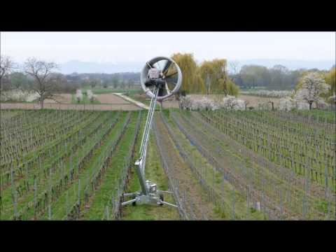 Mobile Windmaschine Frostschutz Schillinger Tow and Blow Video o M