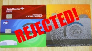 Rejected for a New Credit Card with 826 Credit Score   BeatTheBush