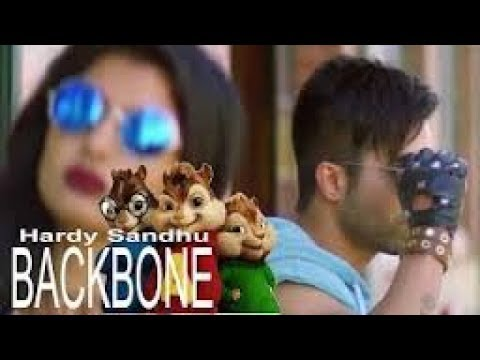 Hardy Sandhu - Backbone Video Chipmunks with Lyrics | Latest Romantic Song 2017