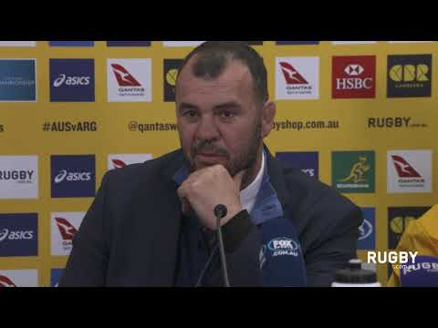 Wallabies post match press conference